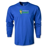 2014 FIFA World Cup Brazil(TM) LS Landscape Emblem T-Shirt (Royal)