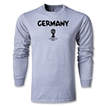 Germany 2014 FIFA World Cup Brazil(TM) Men's LS Core T-Shirt (Grey)