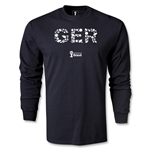 Germany 2014 FIFA World Cup Brazil(TM) Men's LS Elements T-Shirt (Black)