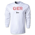 Germany 2014 FIFA World Cup Brazil(TM) Men's LS Elements T-Shirt (White)