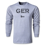 Germany 2014 FIFA World Cup Brazil(TM) Men's LS Elements T-Shirt (Grey)