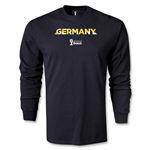 Germany 2014 FIFA World Cup Brazil(TM) Men's LS Palm T-Shirt (Black)