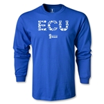 Ecuador 2014 FIFA World Cup Brazil(TM) Men's LS Elements T-Shirt (Royal)