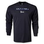 South Korea 2014 FIFA World Cup Brazil(TM) Men's LS Palm T-Shirt (Black)