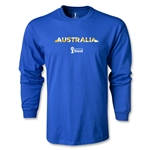 Australia 2014 FIFA World Cup Brazil(TM) Men's LS T-shirt (Royal)