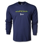 Australia 2014 FIFA World Cup Brazil(TM) Men's LS T-shirt (Navy)
