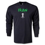 Iran 2014 FIFA World Cup Brazil(TM) Men's LS Core T-shirt (Black)