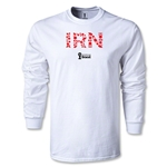 Iran 2014 FIFA World Cup Brazil(TM) Men's LS Elements T-Shirt (White)
