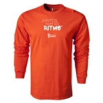 2014 FIFA World Cup Brazil(TM) LS Portugese All in One Rhythm T-Shirt (Orange)