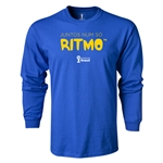 2014 FIFA World Cup Brazil(TM) LS Portugese All in One Rhythm T-Shirt (Royal)
