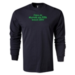 2014 FIFA World Cup Brazil(TM) LS Portugese Logotype T-Shirt (Black)