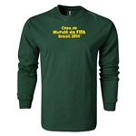 2014 FIFA World Cup Brazil(TM) LS Portugese Logotype T-Shirt (Dark Green)