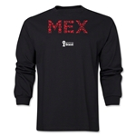Mexico 2014 FIFA World Cup Brazil(TM) Men's LS Elements T-Shirt (Black)