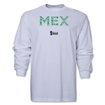 Mexico 2014 FIFA World Cup Brazil(TM) Men's LS Elements T-Shirt (White)