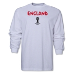 England 2014 FIFA World Cup Brazil(TM) Men's LS Core T-Shirt (White)