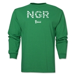 Nigeria 2014 FIFA World Cup Brazil(TM) Men's LS Elements T-Shirt (Green)