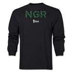 Nigeria 2014 FIFA World Cup Brazil(TM) Men's LS Elements T-Shirt (Black)