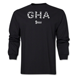 Ghana 2014 FIFA World Cup Brazil(TM) Men's LS Element T-Shirt (Black)