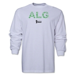 Algeria 2014 FIFA World Cup Brazil(TM) Men's LS Element T-Shirt (White)