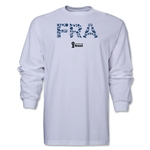 France 2014 FIFA World Cup Brazil(TM) Men's LS Elements T-Shirt (White)