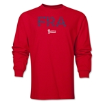 France 2014 FIFA World Cup Brazil(TM) Men's LS Elements T-Shirt (Red)