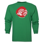 Algeria 2014 FIFA World Cup Brazil(TM) Men's LS Icon T-Shirt (Green)