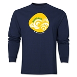 Australia 2014 FIFA World Cup Brazil(TM) Men's LS Icon T-Shirt (Navy)