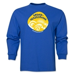 Bosnia-Herzegovina 2014 FIFA World Cup Brazil(TM) Men's LS Icon T-Shirt (Royal)