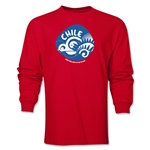 Chile 2014 FIFA World Cup Brazil(TM) Men's LS Icon T-Shirt (Red)