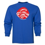 Croatia 2014 FIFA World Cup Brazil(TM) Men's LS Icon T-Shirt (Royal)