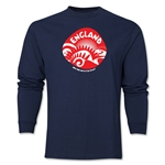 England 2014 FIFA World Cup Brazil(TM) Men's LS Icon T-Shirt (Navy)