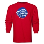 South Korea 2014 FIFA World Cup Brazil(TM) Men's LS Icon T-Shirt (Red)
