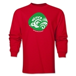 Mexico 2014 FIFA World Cup Brazil(TM) Men's LS Icon T-Shirt (Red)