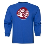 Russia 2014 FIFA World Cup Brazil(TM) Men's LS Icon T-Shirt (Royal)