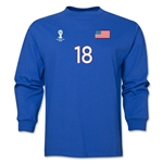 USA 2014 FIFA World Cup Brazil(TM) Men's LS Nu