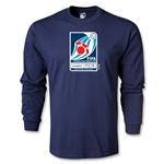 FIFA Interactive World Cup LS Emblem T-Shirt (Navy)