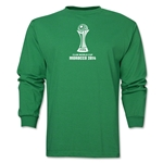 FIFA Club World Cup Morocco 2014 Official Emblem LS T-Shirt (Green)