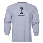 FIFA Club World Cup Morocco 2014 Official Emblem LS T-Shirt (Grey)