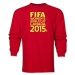 FIFA Women's World Cup Canada 2015(TM) Logotype LS T-Shirt (Red)