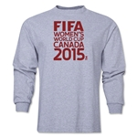 FIFA Women's World Cup Canada 2015(TM) Logotype LS T-Shirt (Grey)