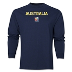 Australia FIFA Women's World Cup Canada 2015(TM) LS T-Shirt (Navy)
