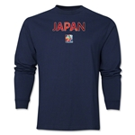 Japan FIFA Women's World Cup Canada 2015(TM) LS T-Shirt (Navy)
