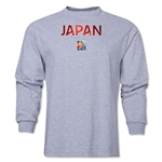 Japan FIFA Women's World Cup Canada 2015(TM) LS T-Shirt (Grey)