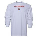 Switzerland FIFA Women's World Cup Canada 2015(TM) LS T-Shirt (White)