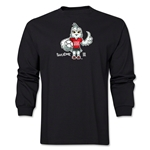 FIFA Women's World Cup Canada 2015(TM) Mascot Pose 1 LS T-Shirt (Black)