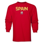 Spain FIFA Women's World Cup Canada 2015(TM) LS T-Shirt (Red)