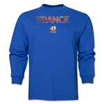France FIFA Women's World Cup Canada 2015(TM) LS T-Shirt (Royal)