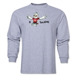 FIFA Women's World Cup Canada 2015(TM) Mascot Pose 2 LS T-Shirt (Grey)