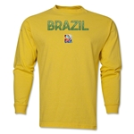 Brazil FIFA Women's World Cup Canada 2015(TM) LS T-Shirt (Yellow)