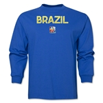 Brazil FIFA Women's World Cup Canada 2015(TM) LS T-Shirt (Royal)
